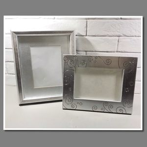 Other - 5x7 silver picture frames (set of 2)